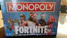 Monopoly Fortnite Collectors Edition Fast-dealing Trading Board Game Hasbro