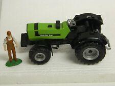 SIKU 1/32 DEUTZ-FAHR AgroStar 6.61 Farm Tractor with ERTL 1/32 Farmer Figure\
