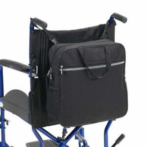 Rollstuhltasche Hinten Rollstuhl Tasche Seitentasche Rollstuhl Rucksack Schwarz