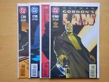 Batman: Gordon's Law (1996) 1-4  Chuck Dixon, Klaus Janson  VF/NM