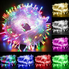 Outdoor Battery Fairy String Lights 20-100m Waterproof Xmas Christmas Party LED