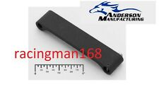 Anderson Manufacturing Aluminum Flat Trigger Guard Assembly (Black) with roll pi