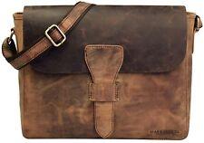 BEAR & GOODIES Laredo, aus echtem Büffel-leder im Vintage Look, Umhängetasche