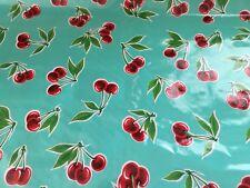 Moda Home Vinyl Fabric Tablecloth Fabric Outdoor Vintage Picnic Cherry Cherries