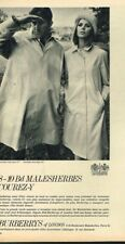 L- Publicité Advertising 1967 Les Manteaux Imperméables Burberrys Trench Coat
