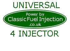 Convert your Car to Classic Fuel Injection - Complete Vehicle Kit for 4 Injector