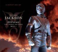 MICHAEL JACKSON - HISTORY-PAST,PRESENT AND FUTURE-BOOK I - 2 CD NEU