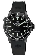 Deep Blue Master 1000 Foot Diver Automatic Dive Watch Generation 2 M1.2PVDBK-S