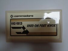 COMMODORE VC-20 / VIC-20 --> RAID ON FORT KNOX (VIC-1913) / CARTRIDGE