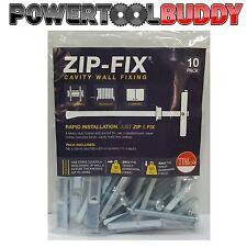 M6 Zip-Fix Toggler Heavy Duty supporti per muro attiva/disattiva/snaptoggle per cartongesso e cartongesso