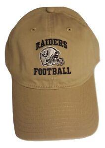 NFL Las Vegas Raiders Football Hat Slouch Style Cap