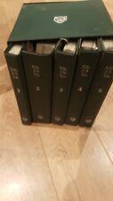Jaguar XJ6 2.9 - 3.6 Box Set of Service Manuals .. Volumes 1,2,3,4,5 Complete