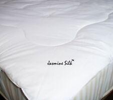 Jasmine Silk 100% Maulbeerseide Gefüllt Matratzenauflage Einzeln