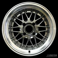15x8 Rota KENSEI 4x114.3 -10 Royal Hyper Black Wheel (1)