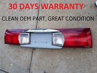 02-07 BUICK RENDEZVOUS TRUNK CENTER TAIL LIGHT TAILLIGHT LAMP FINISH PANEL TRIM