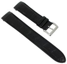 Casio Edifice Pulsera de Reloj XL Cuero Negro para Reloj de Hombre EQB-500L
