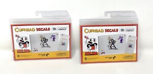 Cuphead Controller Gear 5 Tech Device Decals Laptop Phone - 2 Packs - 10 Decals!