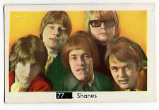 1960s Swedish Pop Star Card #77 The Shanes with Beatles Sectional Back