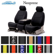 Coverking Custom Front Row Seat Covers Neoprene - Choose Color