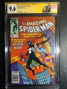 """AMAZING SPIDER-MAN #252 CGC 9.6 """"WP"""" / NEWSSTAND / SS JIM SHOOTER / NEW LABEL CA"""