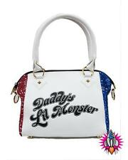 DC COMICS SUICIDE SQUAD HARLEY QUINN DADDYS LITTLE MONSTER HAND SHOULDER BAG