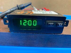 1998-99 FORD CROWN VICTORIA DASH  DIGITAL CLOCK