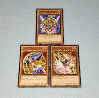 Yugioh Dark Magician Girl Magician's Valkyria 3 Card Duel Monsters Set Lot
