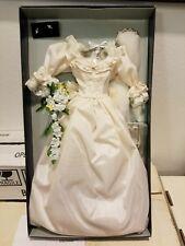 "Franklin Mint Princess Diana Doll Ensemble.  ""WEDDING GOWN SET"" NRFB"