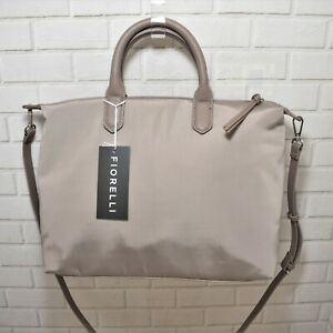 Fiorelli Taupe Zipped Zip Up Shoulder Bag - 68W054 - RRP. £49.00