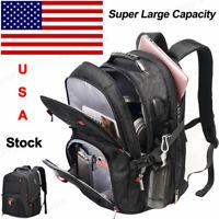 S27 S25 Waterproof Travel Bag USB Laptop Backpack Computer Notebook School Bag