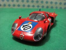 """Alfa Romeo 33/2 Lm Coupe 2000. Long Tailed """" The Mans 1968 """" - 1/43 Best 9255"""