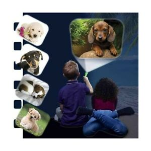 Puppy Torch and Projector - LED, kids, puppies, projector, play, toy