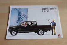 112722) Mitsubishi L200 - Hard Top - Prospekt 11/1993
