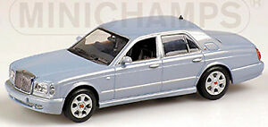 Bentley Arnage R 1998-2010 Azul Hielo Metálico 1:43 Minichamps