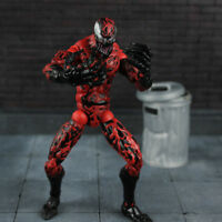 6'' Comic Heros Carnage Action Figure Statue Spider Man Venom Comic PVC Toys