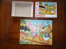 SCARCE DISNEY 1970's Mini Disneyland  UK  Jigsaw Puzzle  100 piece COMPLETE