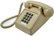 Telephones Land Line Corded Old School Phone Single Desk Hearing Impaired Telep