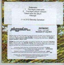 (CV412) Exitmusic, The Night - 2012 DJ CD