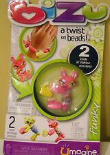 Bizu A Twist On Bead Toy Kit (2 Inside)  Umagine Funky Wirst Craft Girls