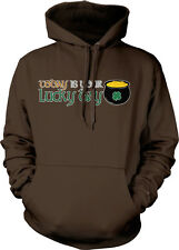 Today Is Your Lucky Day Clover Pot Gold St. Patricks Hoodie Pullover Sweatshirt