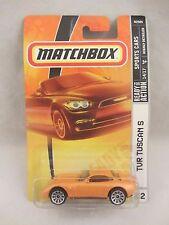 Matchbox  Sports Cars  TVR Tuscan S  Orange  NOC 1:64 scale  (517) N2505