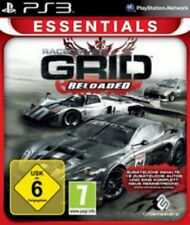 PLAYSTATION 3 RACE DRIVER GRID RELOADED tedesco come nuovo