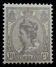 NED NVPH 81 Wilhelmina Bontkraag prachtig postfris met nieuwe gom CW 36,-