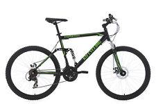 "Mountainbike Fully 26"" Triptychon MTB Schwarz-Grün 21-Gänge KS Cycling 228M"