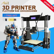 2017 Upgraded Anet A8 Quality High Precision Reprap Prusa i3 DIY 3d Printer USA