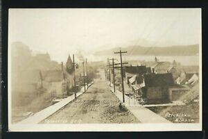 AK Ketchikan RPPC c.1920 DIRT STREET SCENE by Thwaites No. 5010