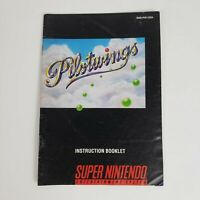 Pilot Wings (Super Nintendo, SNES) MANUAL Only Very good - FAST SHIP