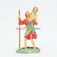 "SAN CRISTOBAL STATUE FIGURA SAINT CHRISTOPHER 5"" INCHES PATRON DE CONDUCTORES"