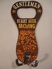 Mens Large Novelty Beer Brewing Bottle Opener Coat & Hat Hook for Man-Cave (HD1)