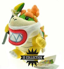 SUPER MARIO BOWSER JUNIOR CON LANCIA PELUCHE pupazzo plush new baby koopa jr. 2